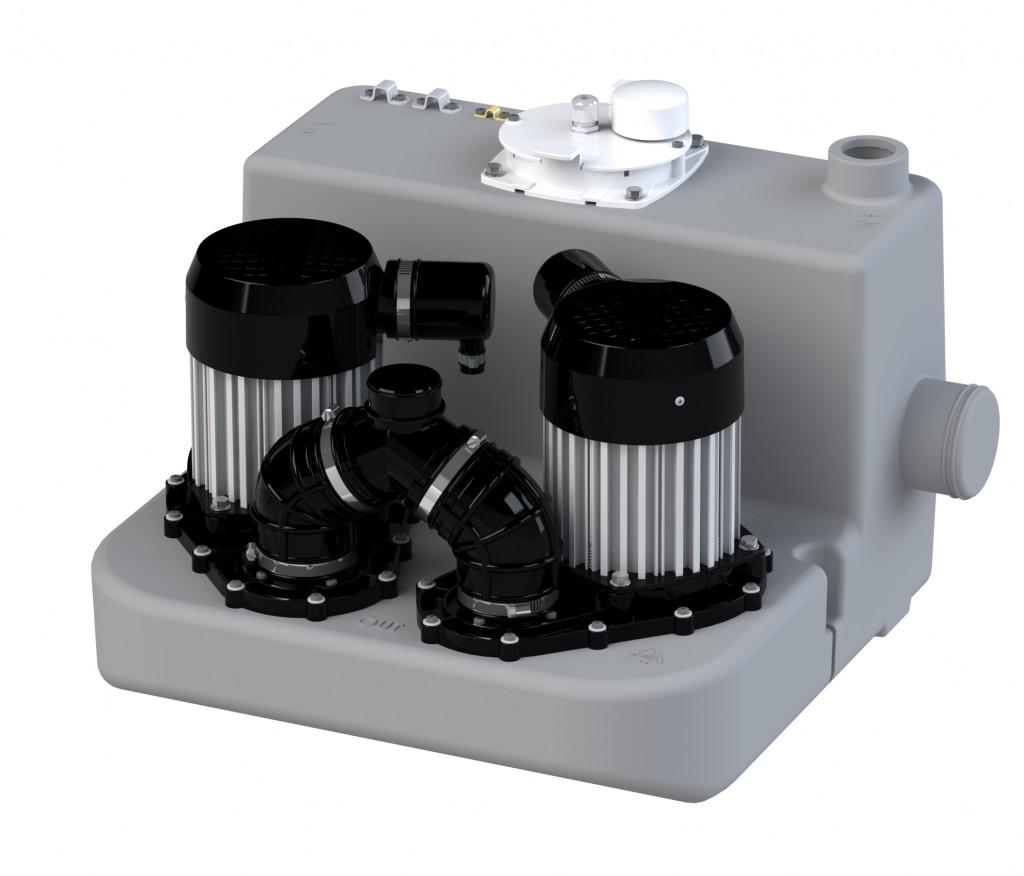Saniflo Canada introduces Sanicom 2 heavy-duty, duplex drain pump